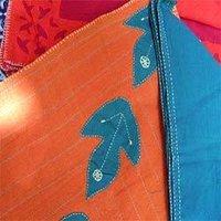 Leaf Applique Mat And Napkin Set