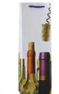 Sleek Wine Paper Bags