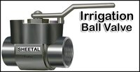 Plastic Irrigation Ball Valve