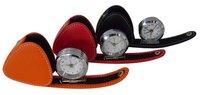 PU Leather Alarm Clock