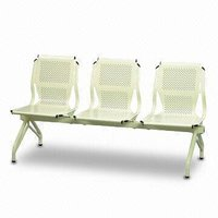 Perforated Seat And Back Waiting Area Chairs