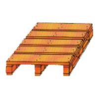 Single Deck Four Way Non Reversible Pallets