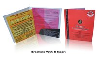 Brochure With 5 Inserts Printing Services