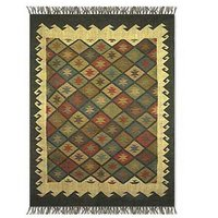 Ethnic Wool Jute Rugs