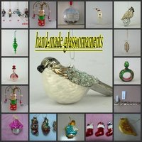 Hand-Made Glass Ornaments