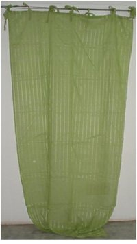 Classic Pattern Cotton Curtains