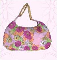 Floral Print Beach Bags