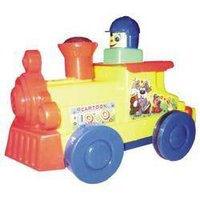 Push N Go Cartoon Loco Toys