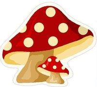 Mushroom Shape Hand Tufted Rugs