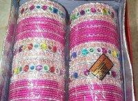 Kundan Work Bridal Bangles
