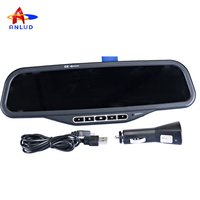 Bluetooth Handsfree Rearview Mirror and MP3 ALD08