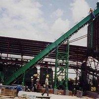 High Angle Belt Conveyors