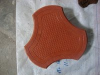 Cosmic Shaped Pvc Moulds For Paver Block