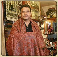 Woven And Embroidered Shawls