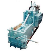 Hydraulic Baling Press With Double Compression