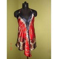 Organza Silk Gown