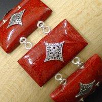 Coral Studded Bracelets