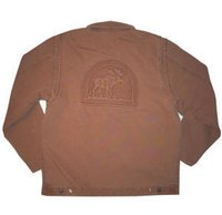 Embossed Canvas Work Jackets