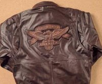 Embossed Leather Jackets