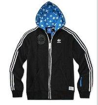 Adida Men'S Ot Hooded Flock Sweatshirt O17852 Jackets