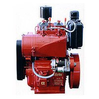 Diesel Engine - Aircooled And Water Cooled Twin Cylinder