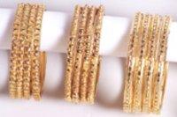 Ethnic Look Gold Bangles