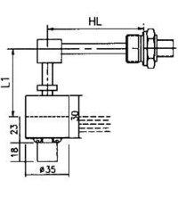 Horizontal Level Switches