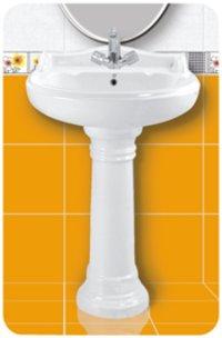 Jalpari Wash Basin With Pedestal