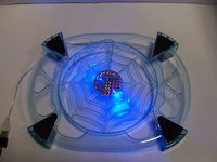 Laptop Cooling Pad With Blue Led