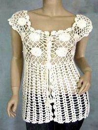 Ladies Designer Crochet Tops