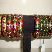 Kundan Meena Bangle