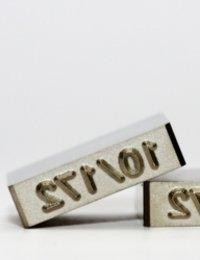 Industrial Stamp Mark