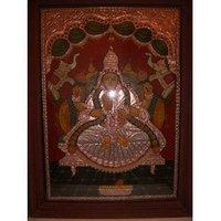 Goddess Lakshmi Paintings