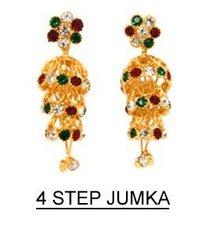 Four Step Jhumka