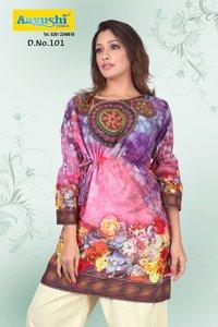 100% Cotton Kurti Fabrics