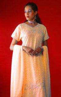Designer Georgette Salwars