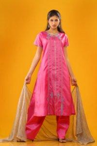 Designer Silk Salwar