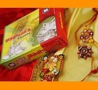 Kaju Barfi Rakhi Sweets Gift Hamper