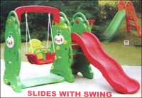 Kids Slides With Swing
