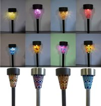 Mosaic Solar Garden Lights