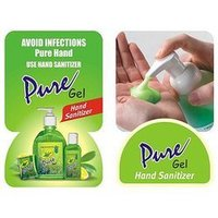Hand Wash Sanitizer Gel