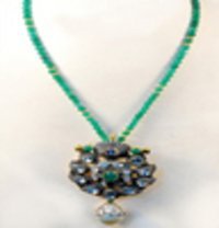 Ladies Kundan Necklace