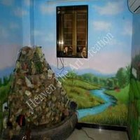 Landscape Painting On Wall