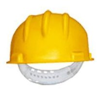 Safety Helmet With Strap Manual Locking System