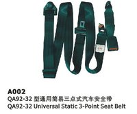 A002 Automotive 3Point Safety Seat Belts