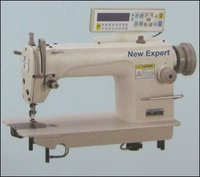 Computer Controlled High Speed Single Needle Flatbed Lock Stitch Sewing Machine