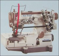 High Speed 3 Needle Chainstitch Interlock Sewing Machine For Attaching Elastic
