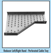 Reducer Left/Right Hand Perforated Type Cable Tray