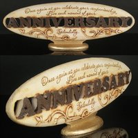 Anniversary Gift (Oval-Polyresin)