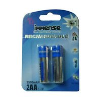Aa Size 2500mah Nimh Rechargeable Batteries